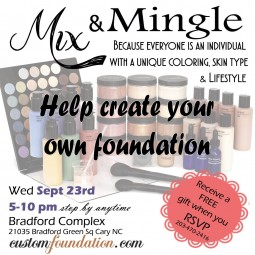 Mix and Mingle Sept 23rd