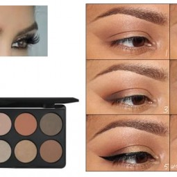Natural Beauty With The Demure Eye Palette
