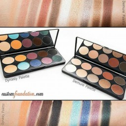 Demure and Dynasty Palettes